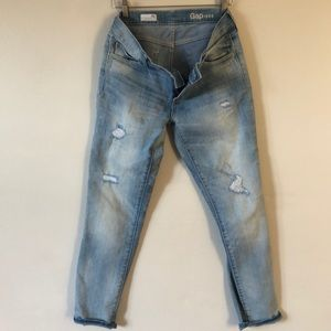 Gap 1969 Girlfriend jeans sz 26r